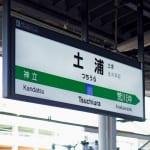 JR常磐線土浦駅 桜町ソープランド街の玄関口