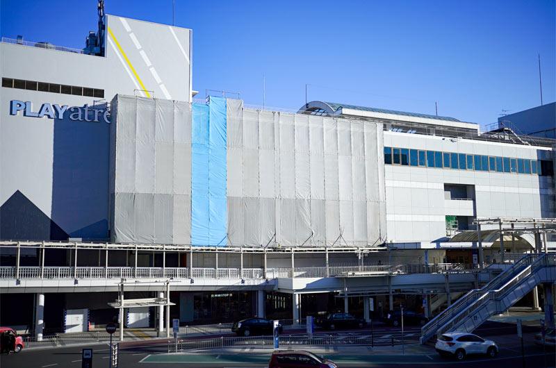 JR常磐線 土浦駅 桜町ソープランド街の玄関口