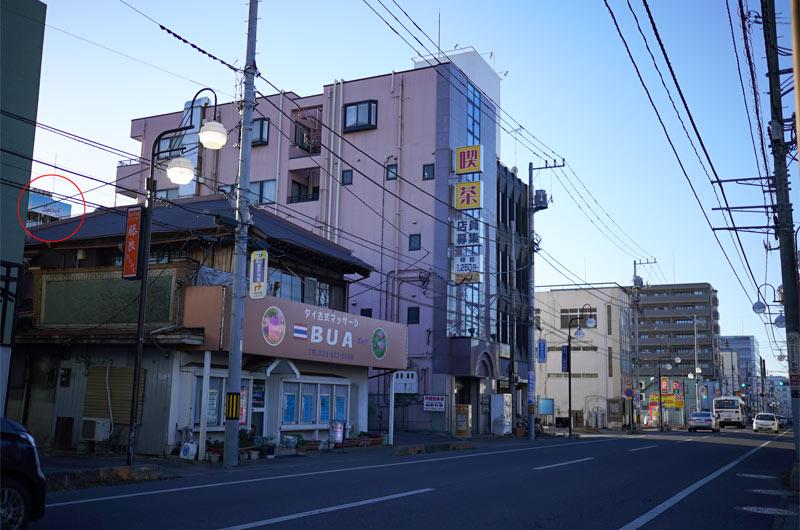 土浦 桜町 ソープランド街 道のり